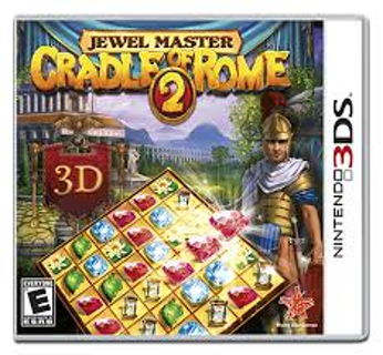 New Jewel Master Cradle of Rome 2 3DS Game