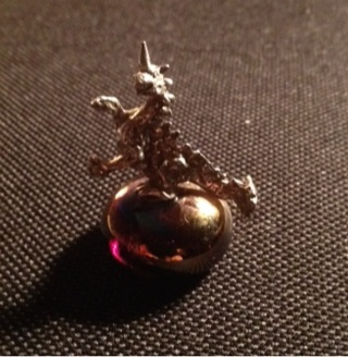Dragon, On Top Of Glass Stone