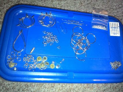 EARRING FINDINGS AND ASSORTED OTHERS