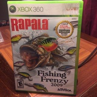 Rapala Xbox 360 game