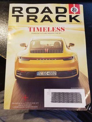 Road & Track Magazine March/April 2019