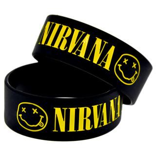 1 NIRVANA Bracelet Grunge Band Wristband Accessory
