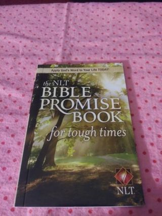 ❤♡❤♡❤♡BRAND NEW NLT BIBLE PROMISE BOOK® (FOR TOUGH TIMES)❤♡❤♡❤