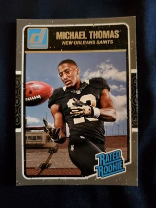 2016 Donruss Rated Rookie Michael Thomas
