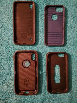 4 Assorted Phone Cases
