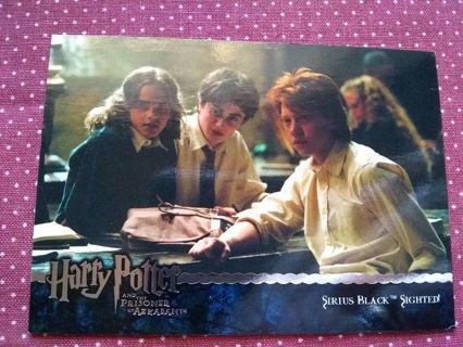 Harry Potter The Prisoner of azkaban Trading Card