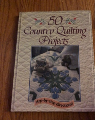 50 country quilting projects.