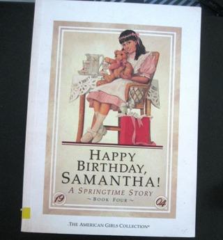 """Happy Birthday Samantha"" American Girl Book Collection"