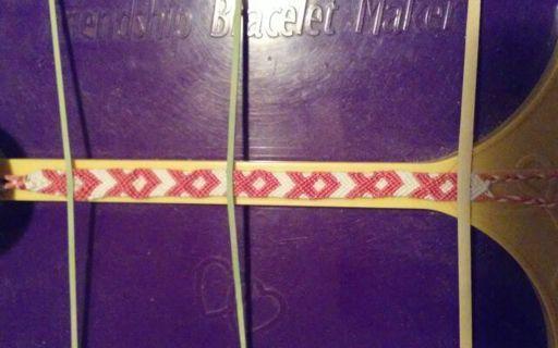 Race For The Cure Handmade Bracelet