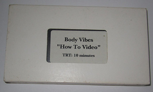 """BODY VIBES """"HOW TO VIDEO"""""""