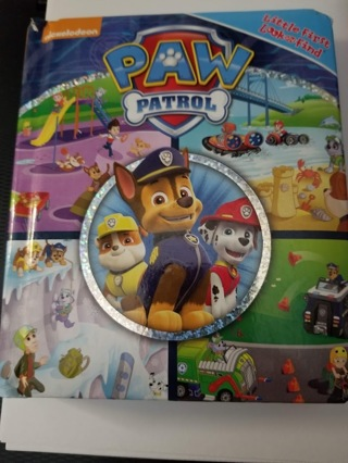 Paw Patrol Little First Look and Find