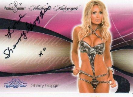 2008 Benchwarmer Sherry Goggin Autograph