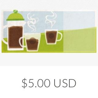 Starbucks $5 code