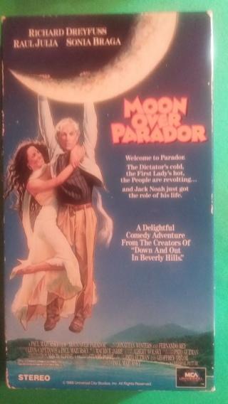 vhs moon over parador free shipping