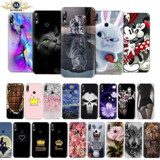 Cover For Asus Zenfone Max Pro M2 ZB631KL Case 6.26 cool printing Soft TPU Case For Asus Max Pro Z