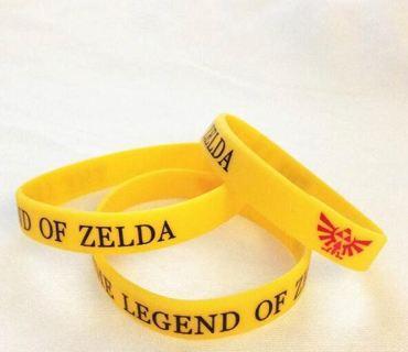 Nintendo ZELDA Video Game Theme wristband bracelet NINTENDO HOT TOPIC punk emo goth FAST SHIPPING