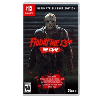 Friday The 13th: Game Ultimate Slasher Edition (Nintendo Switch/PS4/Xbox One) NEW/SEALED