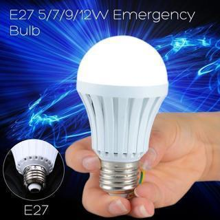 [GIN FOR FREE SHIPPING] Rechargeable White LED Bulb Emergency Camping Hunting Light
