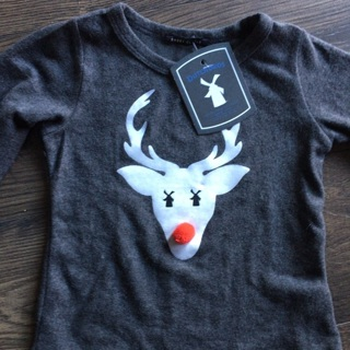 Dutch Bros. Coffee - Rudolph Holiday, Long Sleeve Shirt (6T) *** NEW