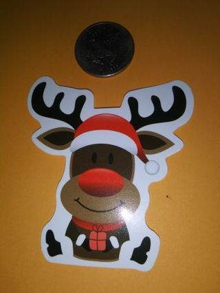 Reindeer new vinyl labtop sticker adorable lowest gins! No refunds! No lower great quality!