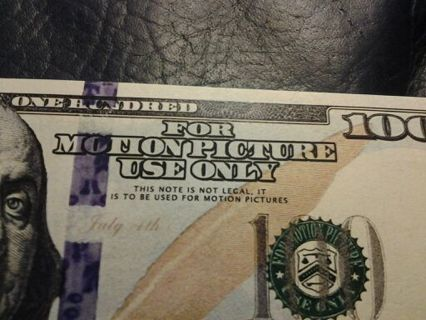 Free: Prop money New style hundred dollar bill - Other - Listia com