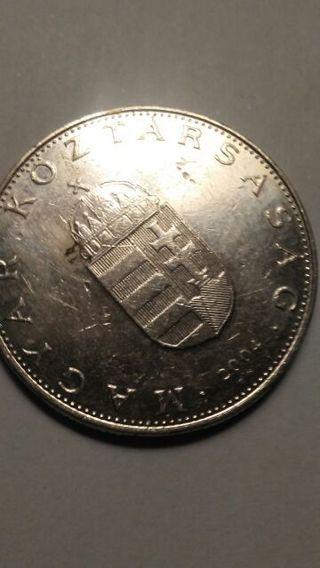 """Hungary Coin """"Magyar"""" 2004 (Error Coin?)"""