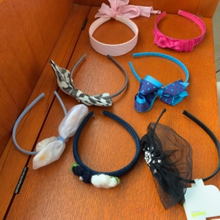 Your Choice of One of 7 Headbands with Bows or Flowers