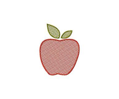 Free 4x4 Machine Embroidery Designs Set Embossed Cat Apple Shamrock