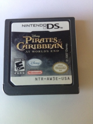 Disney's PIRATES OF THE CARRIBEAN AT WORLDS END for Nintendo DS NTR-AW3E-USA