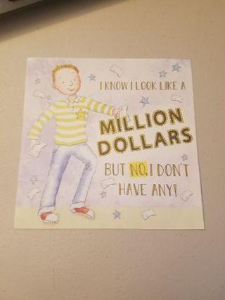Million Dollars Die Cut