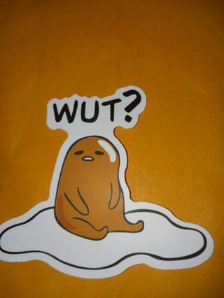 Funny cute vinyl sticker no refunds regular mail only Very nice