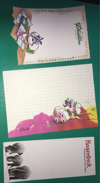Small Lot of Diddle / Diddlina Stationery Memo Sheets + Bonus Sheet