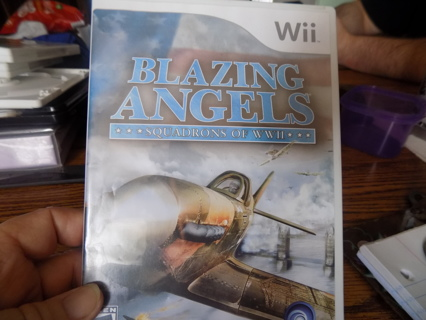 Wii Blazing Angels Squadron of WW11 game