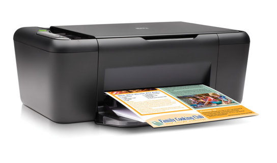 1 HP Deskjet F4480 Printer & Scanner All-in-One PC Printer