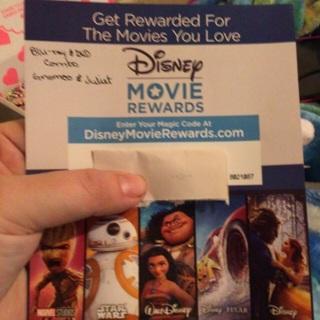 Disney Movie Rewards Gnomeo & Juliet