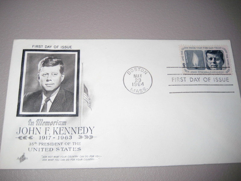 Free John F Kennedy First Day Cover Fdc May 1964 Stamps Listia Com Auctions For