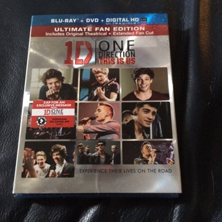 One direction this is us(blue ray)movie