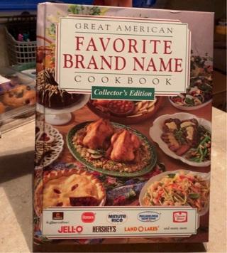 Great American favorite brand cookbook collectors edition