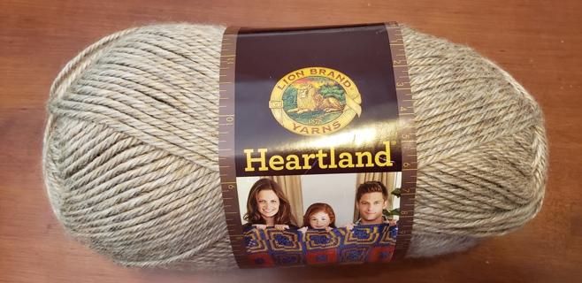 """NEW - Lion Brand Heartland Yarn - """"Grand Canyon"""""""
