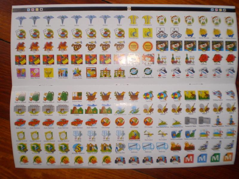Calendar Planner Reminder Stickers : Free calendar reminder stickers other listia