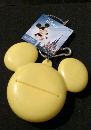 BNWT Walt Disney World Mickey Mouse plastic coin purse