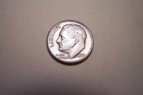 Silver 1952-S Roosevelt Dime