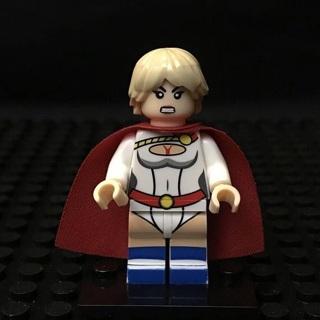 New Power Girl Minifigure Building Toy Custom Lego