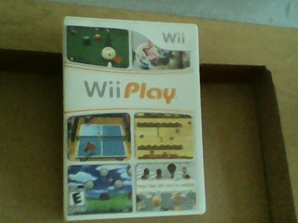 """""""Wii PLAY 9 GAMES"""""""