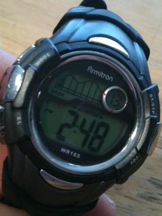 armitron wr165 watch instructions