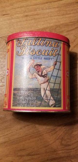 Nabisco tin can