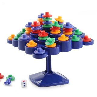 Turntable Stacking Board for Parent-Child Activity Promote children IQ Kids Toy Gift Party Games