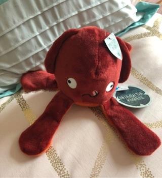 Barkbox Releash The Kraken Plush ($10) dog toy, NEW w/ TAGS