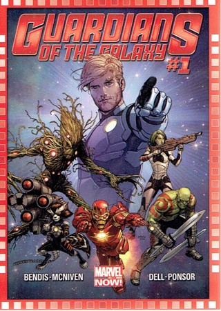 2013 Marvel Now Collectible Card #123 Guardians Of The Galaxy #1
