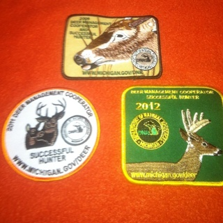 Deer Hunting Patches